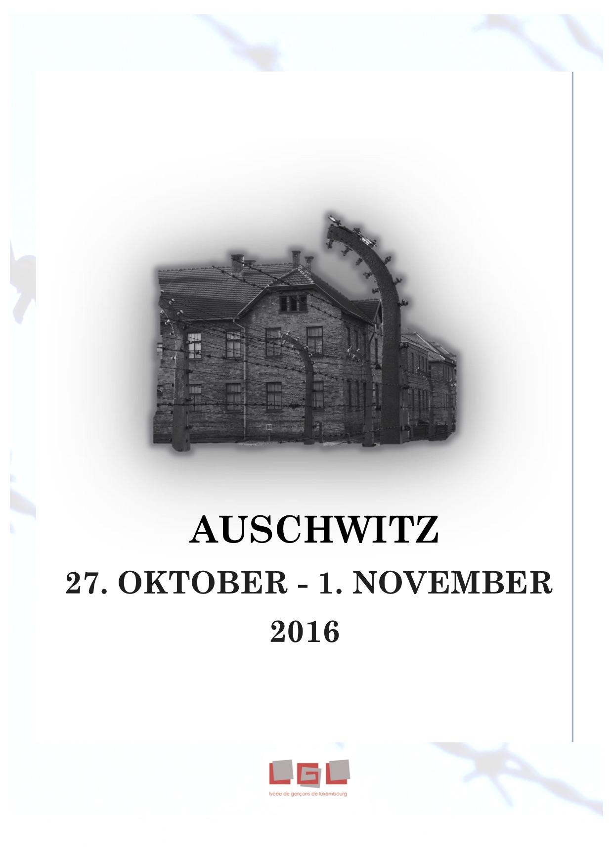 Auschwitz 2016