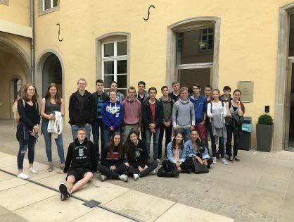 Rencontre à l'Abbaye de Neumünster avec Dina Schweitzer, victime de la Shoah