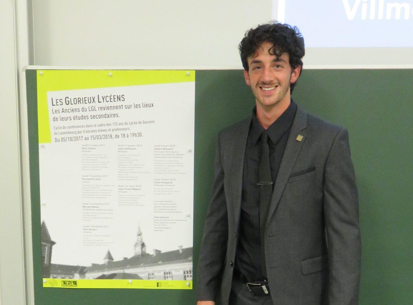 Cycle de conférences 125 ans LGL - Félix Urbain