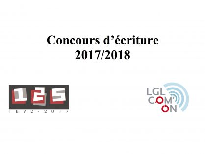 Concours 2017/2018