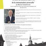 Conférence : Les défis du commerce dans l'ère de la communication universelle – Fernand Ernster