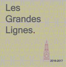 Le LGL présente l'édition 2016-2017 de sa publication annuelle « Les Grandes Lignes »