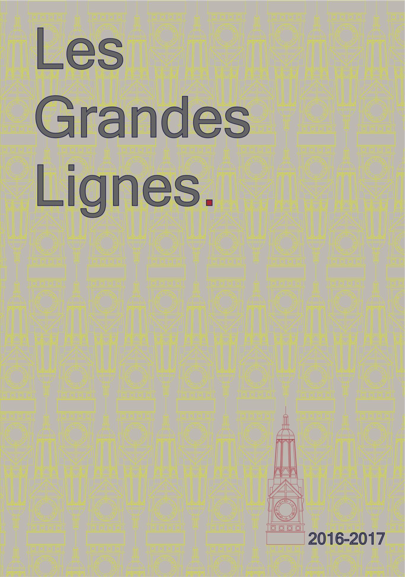 Les Grandes Lignes 2016-2017