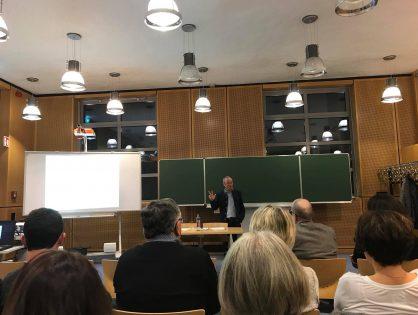 Conférence de M. Fernand Ernster - 9 novembre 2017