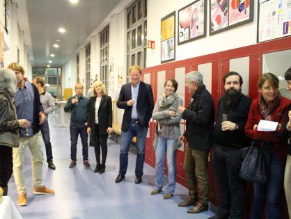 """Ausstellung """"Mot'sArt"""" im Lycée de Garçons de Luxembourg"""