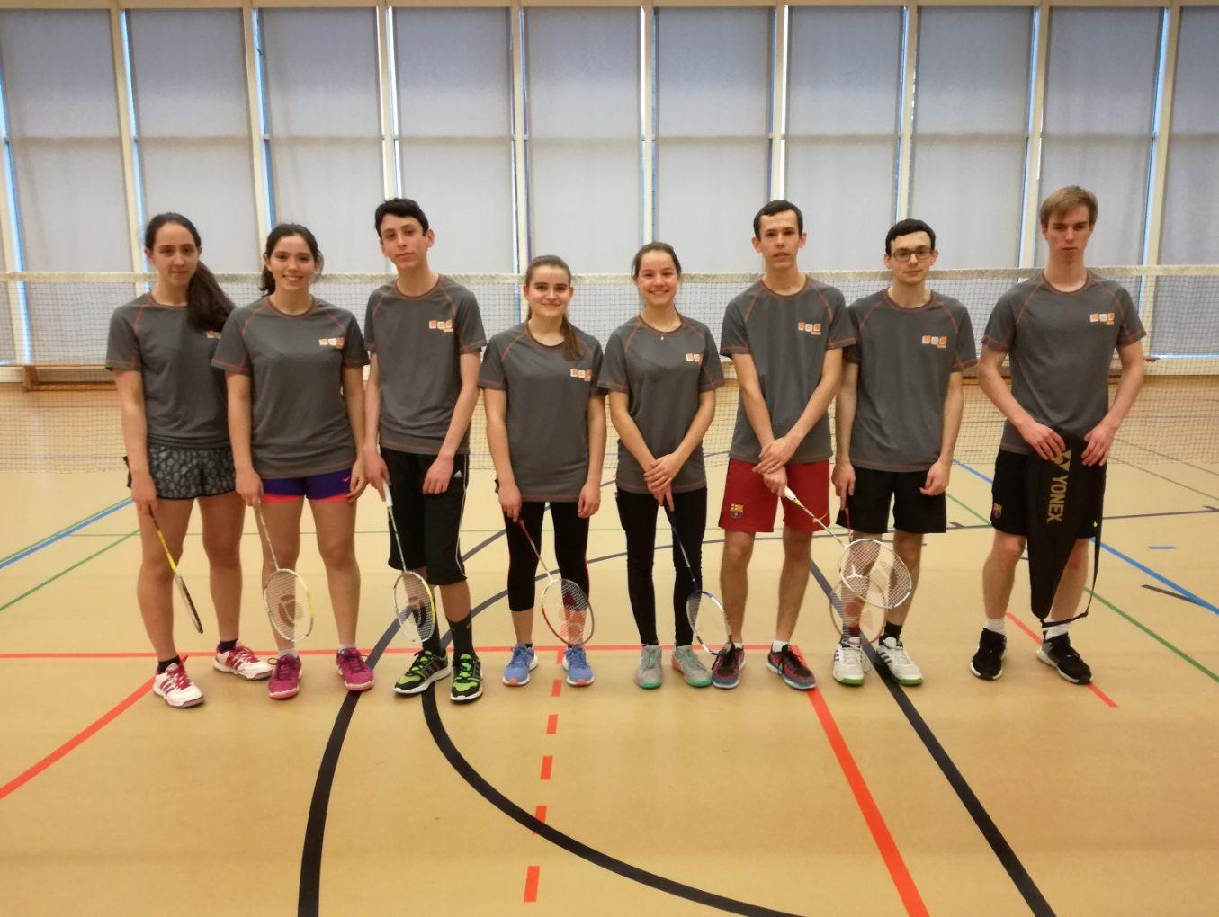 LASEL 07/12/17 Badminton