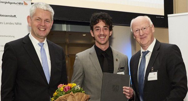 Forschungspreis  für F. Urbain ( ehemaliger LGL- Schüler )