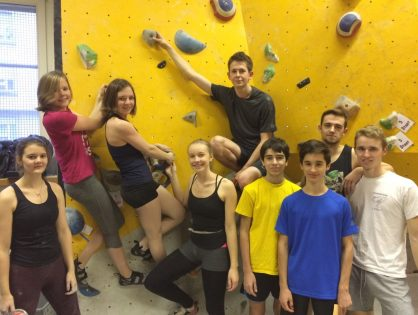 LASEL - Compétitions du 07/12/17 - Badminton, Ready to climb (Boulder) et Dance Session