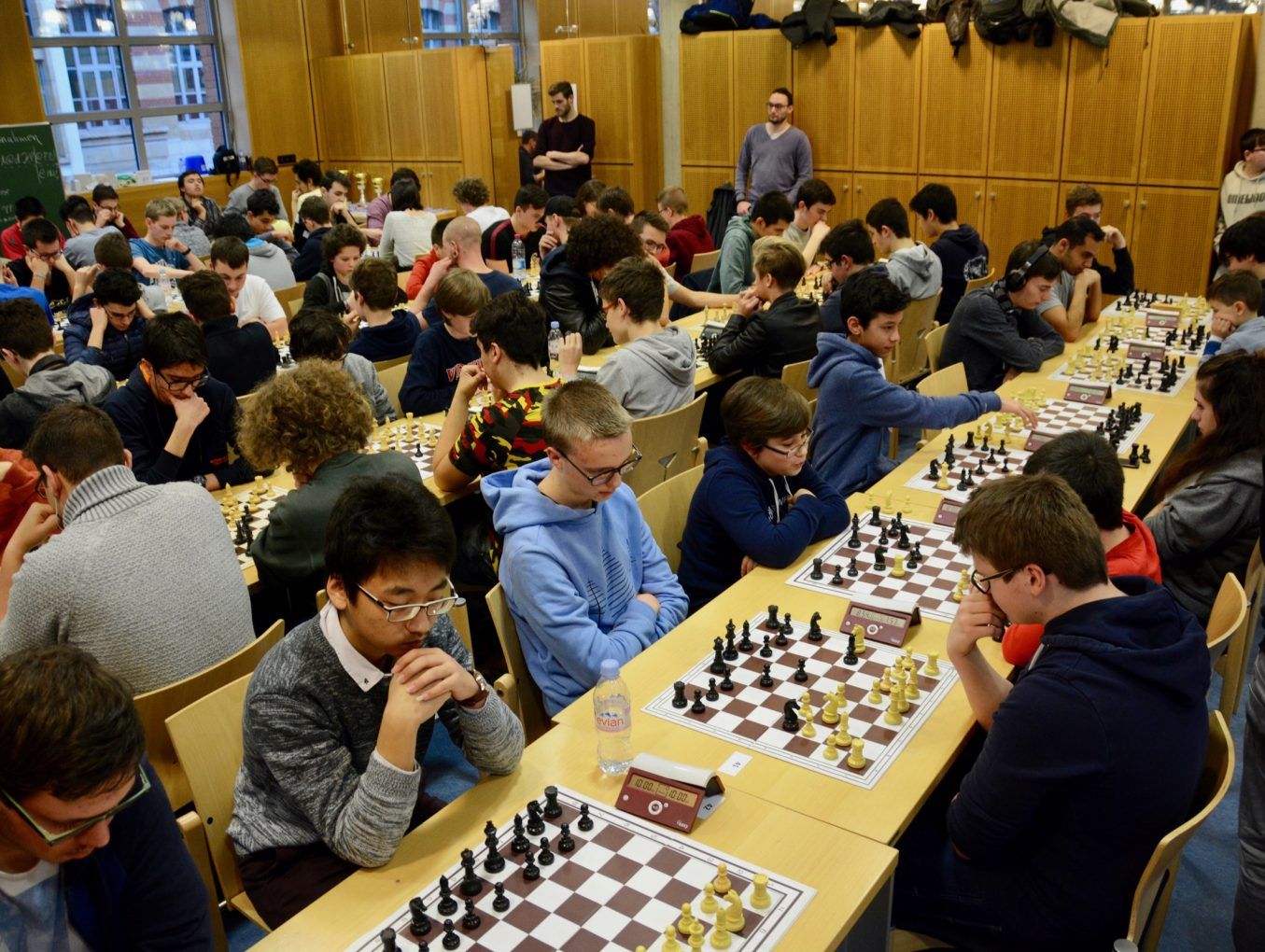 Tournoi d'échecs au LGL