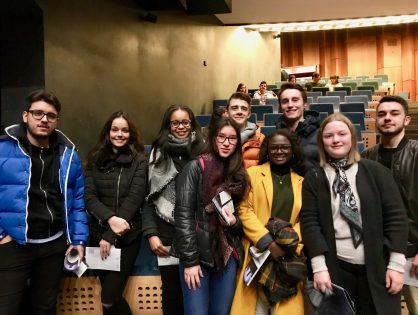 Les élèves de 1C2 de sortie au Grand Théâtre de la Ville