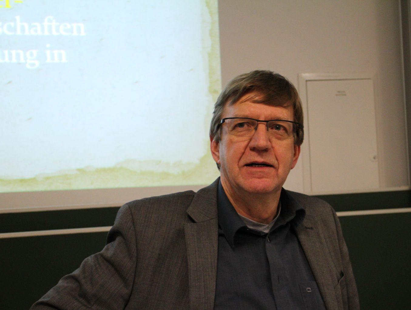 Jean-Frank Wagner au LGL: «De l'argile minérale au nano-composite»