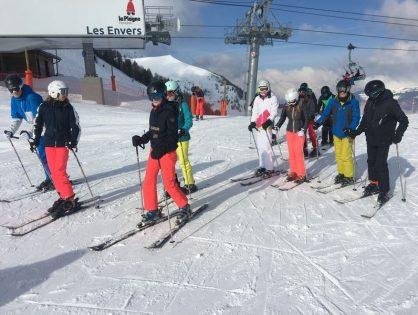 Classes de neige - La Plagne 1800