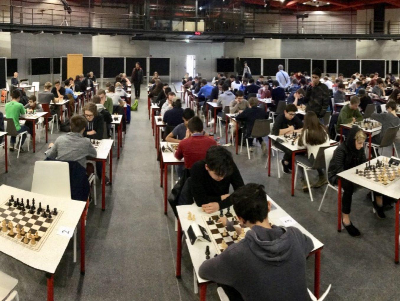 Tournoi d'échecs au Geesseknäppchen