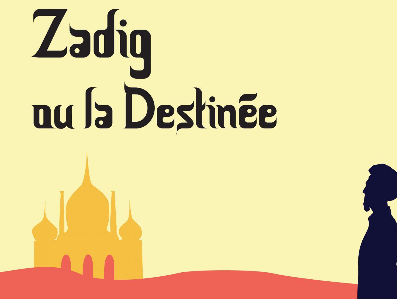 Théâtre 2018 - Zadig - Affiche