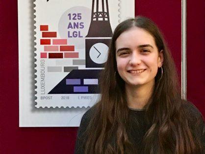 Un nouveau timbre-poste réalisé par Ines Pires