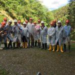 L'option chimie de 2e a visité la mine de cuivre à Stolzembourg