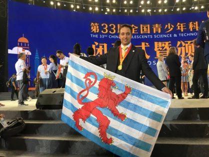 Max Arendt (1B) remporte la médaille d'or!