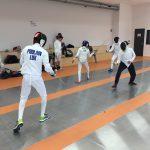 LASEL – Compétitions du 15/11/2018 – Escrime, Badminton & Natation