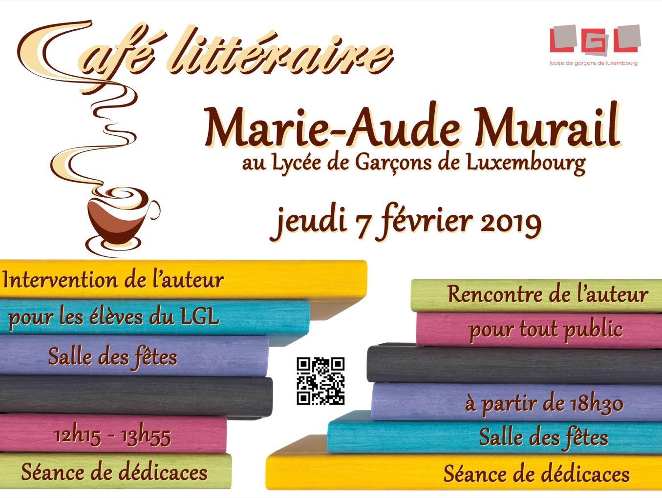 Café littéraire 2018