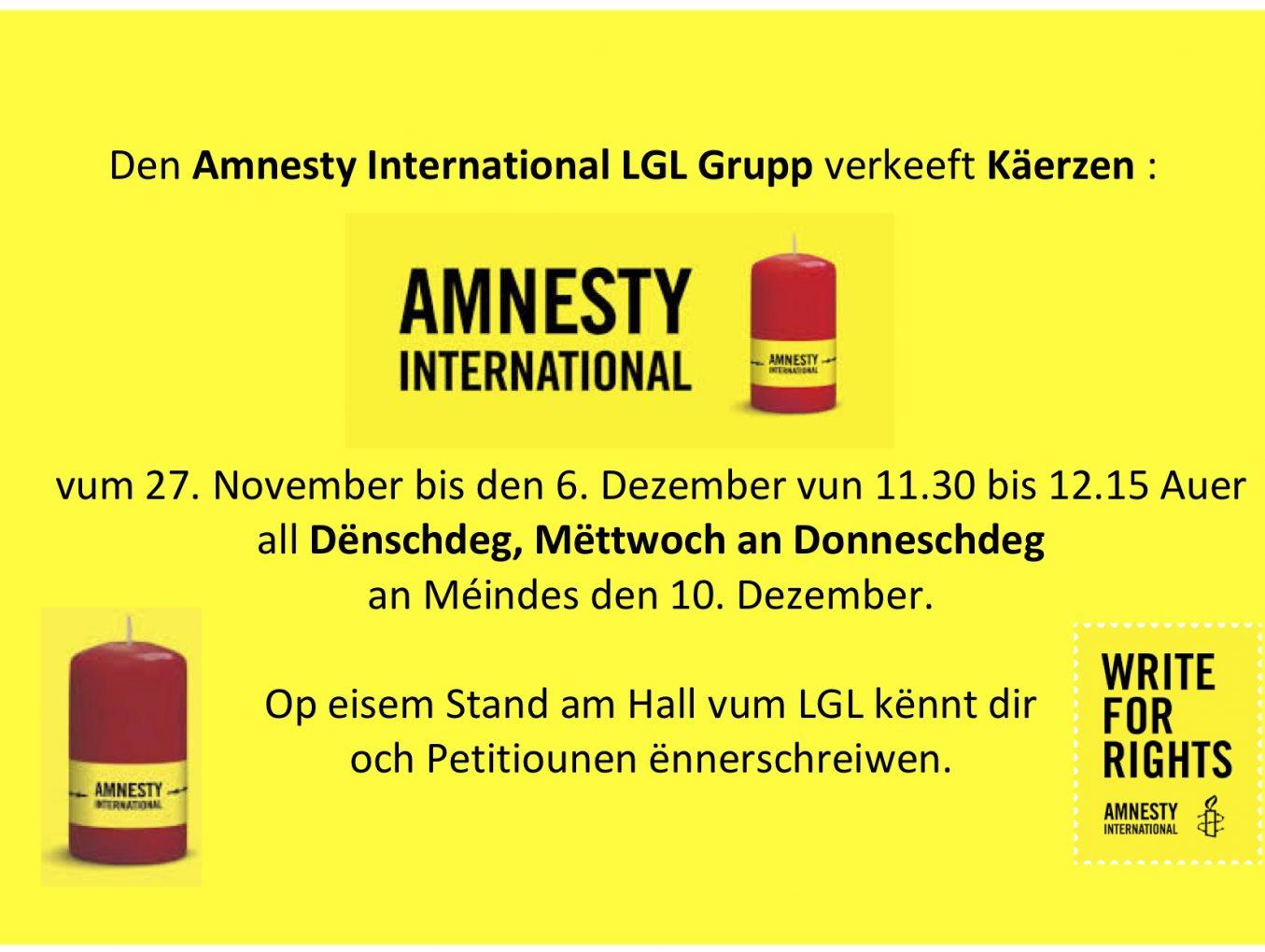 LGL Grupp Amnesty International