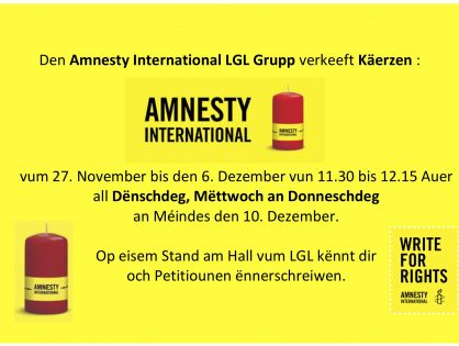 LGL Grupp Amnesty International