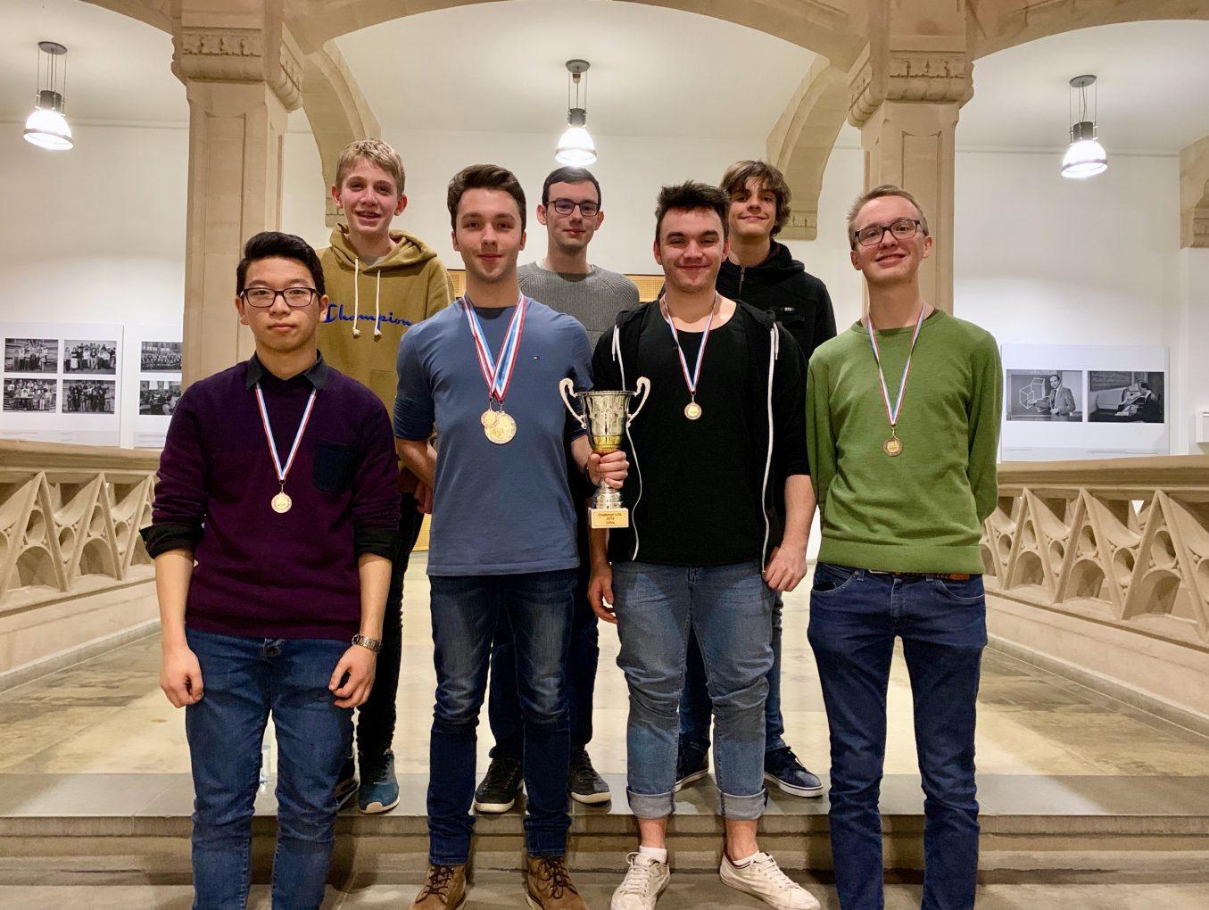 Une victoire haut la main pour le groupe Chess@LGL