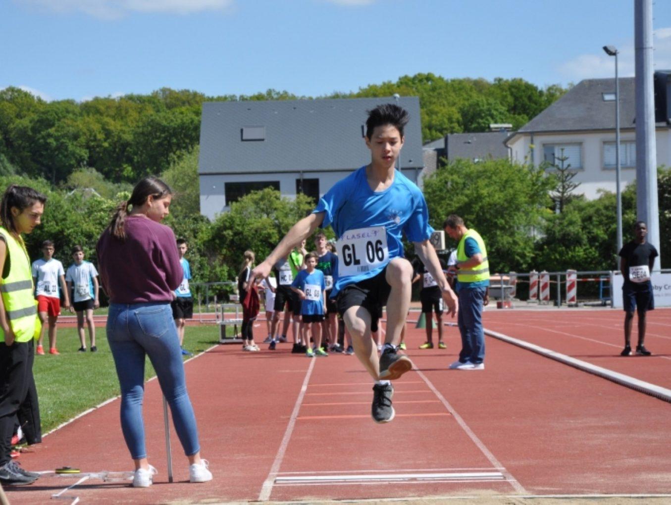 LASEL – Compétitions du 16/05/2019 – Athlétisme, Escalade, Escrime & Football