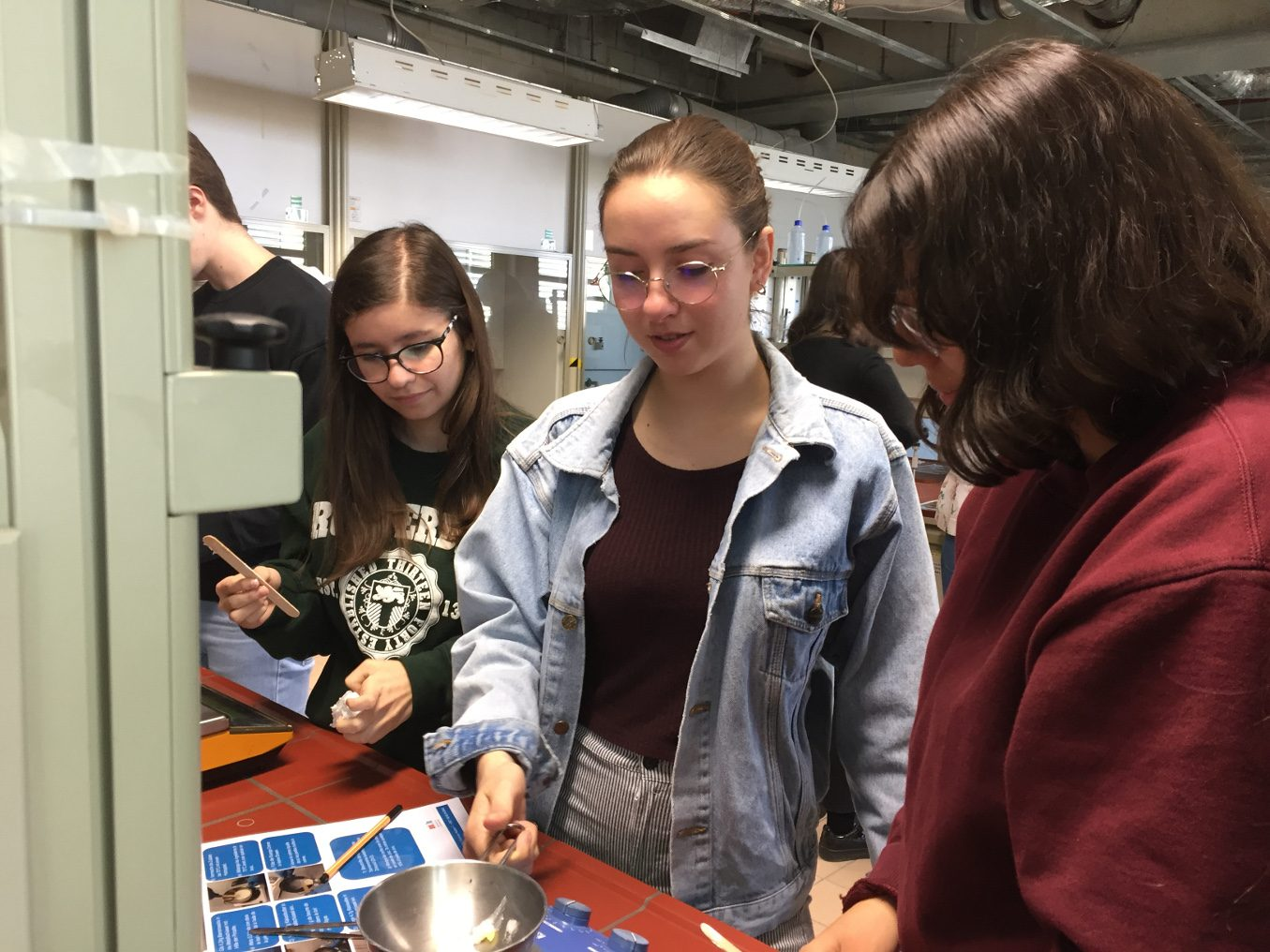 Visite au Scienteens Lab 2019