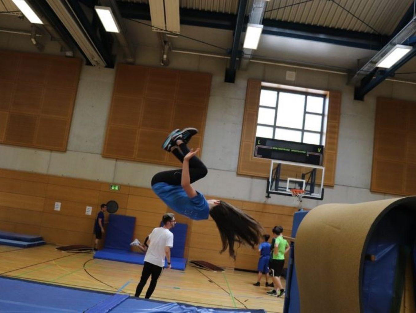 LASEL 13/06/19 Badminton/Parkour
