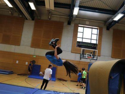 LASEL - 13/06/19 - Badminton & Parkour