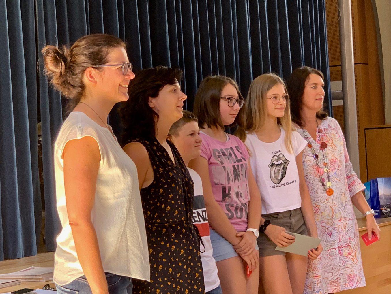 Gagnants du concours d'écriture 2018-2019