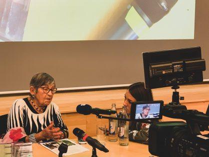 Reportage sur Ginette Kolinka