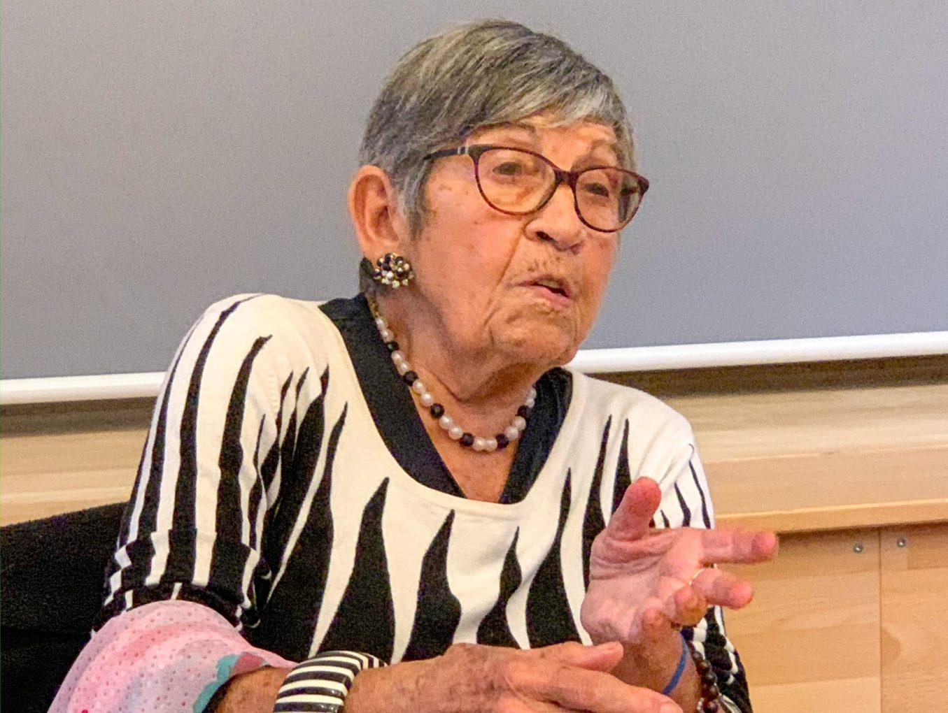 Ginette Kolinka, rescapée d'Auschwitz, une première au LGL