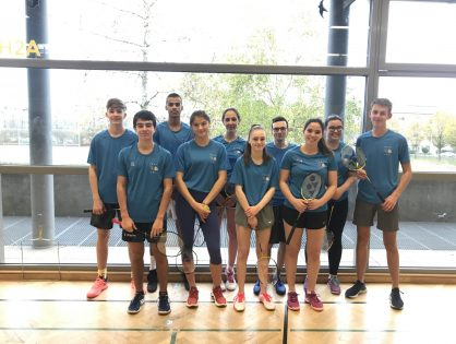 14/11/19 Badminton/Natation