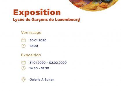 Exposition « matières et textures »