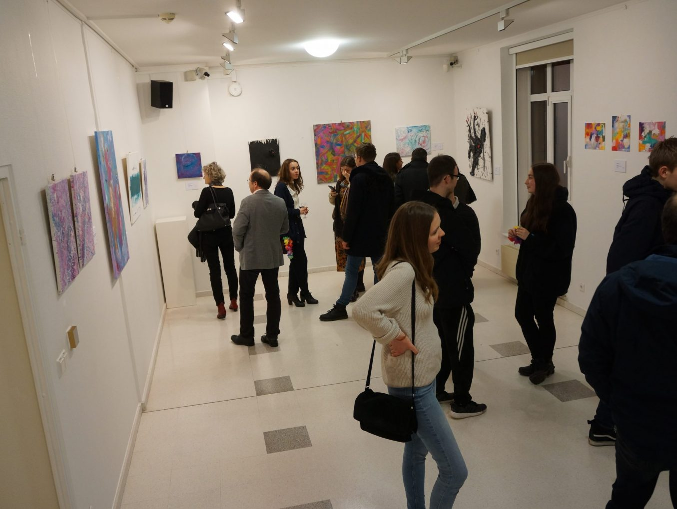 """Expo """"Matières et textures"""""""