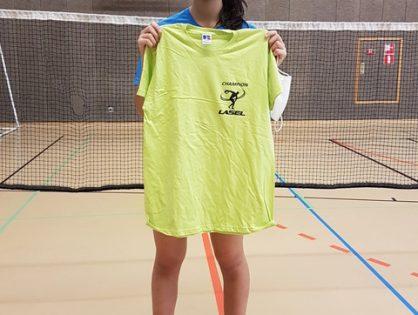 22/10/20 Badminton/Tennis de table