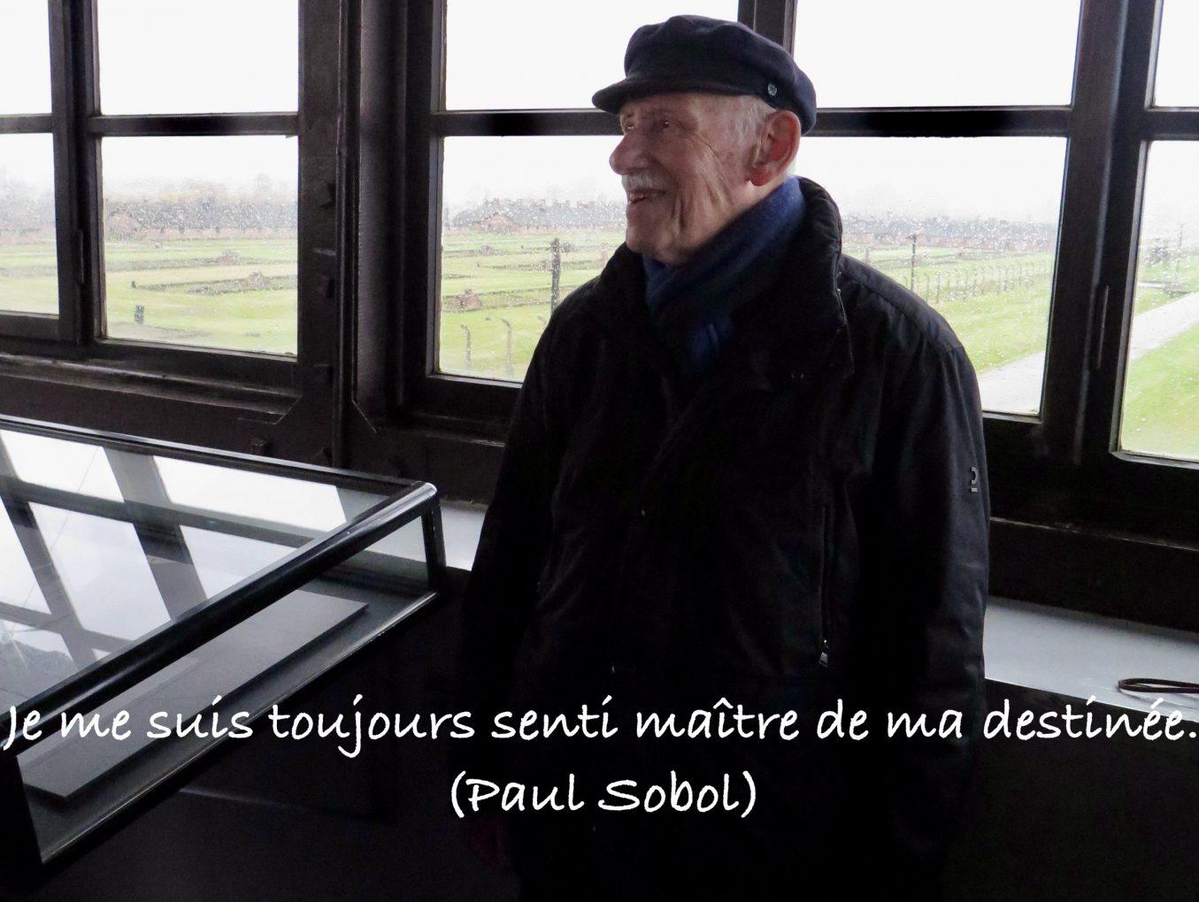 En mémoire de Monsieur Paul Sobol, rescapé d'Auschwitz