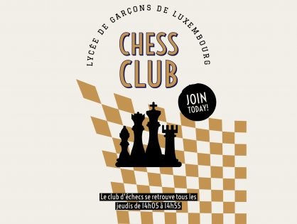 Le club d'échecs du LGL
