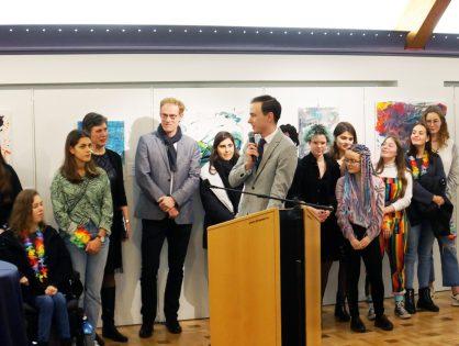 1re option peinture - Deux années de créativité et d'engagement